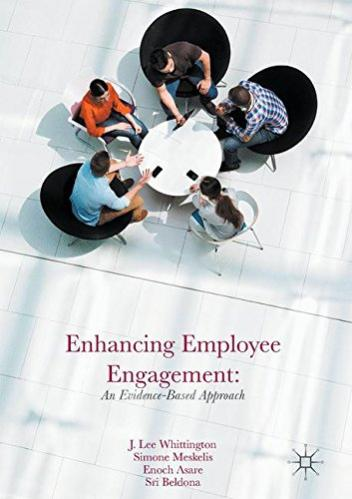 Enhancing Employee Engagement front cover