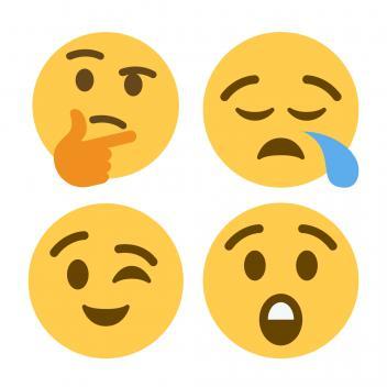 Various emojis