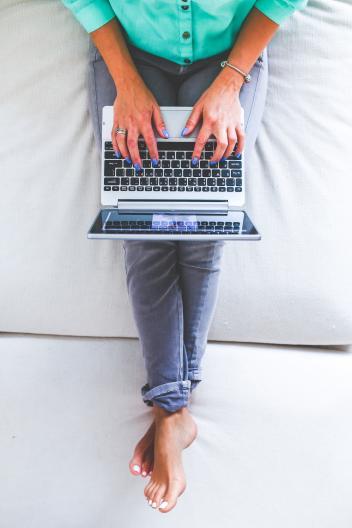 Work laptop