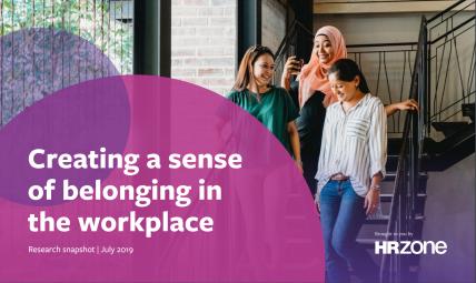 Creating a sense of belonging at work research