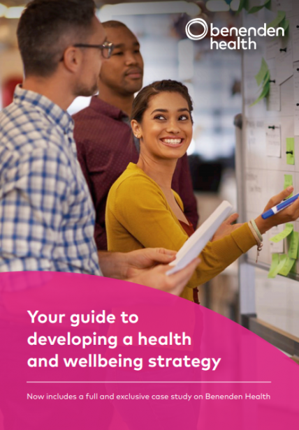HRZone Benenden Health Wellbeing Guide