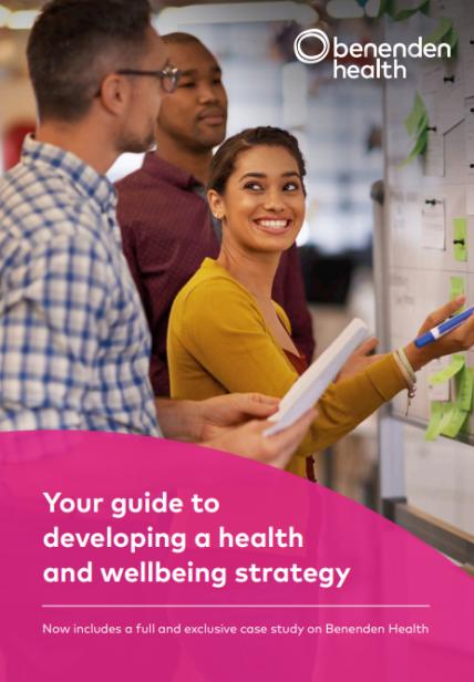 HRZone Benenden Health Wellbeing Guide