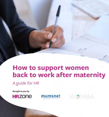 How to help staff back after maternity