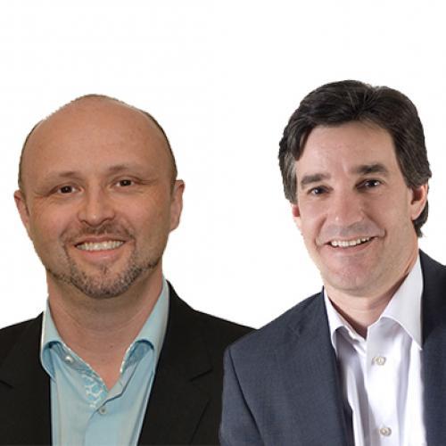 Dr Paul Brewerton and James Brook
